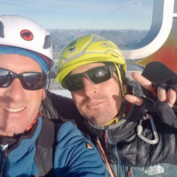Gipfelfoto Ortler Hochtour