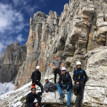 Brenta Klettersteig - Via delle Bocchette