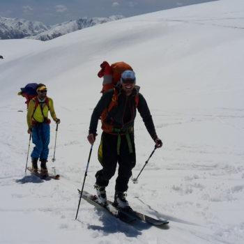 Skihochtour Bergführer Kazbek 5033m