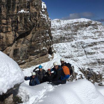 Klettersteig Bergführer Brenta Dolomiten