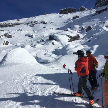 Freeride Skisafari Bergführer Brenta Dolomiten Vallesinella
