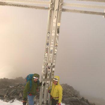 Königspitze Gipfel Bergführer Ortler
