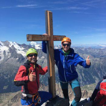 Gipfel 4000er Wallis