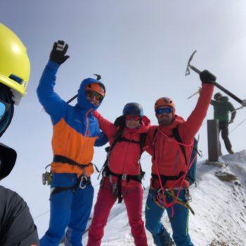 Weißkugel Schnalstal Skitour
